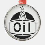 Oil Rig Worker Christmas Ornaments