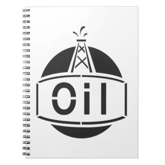 Oil Rig Worker Notebook