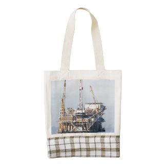 Oil Rig Zazzle HEART Tote Bag