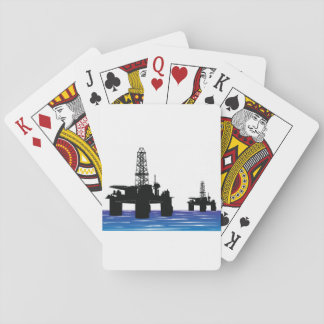 Oil Rigs Playing Cards