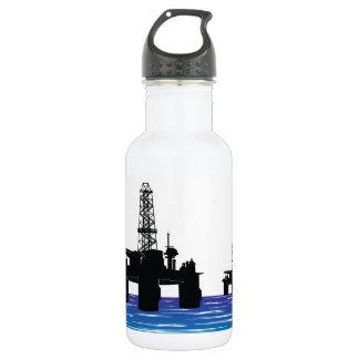 Oil Rigs Water Bottle