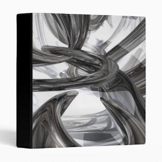 Oil Slick Abstract Binder