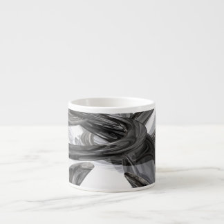 Oil Slick Abstract Espresso Cup
