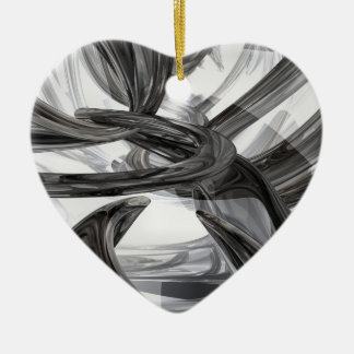 Oil Slick Abstract Ornament