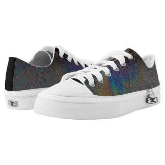 Oil slick and snake Low-Top sneakers