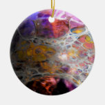 Oil Slick Christmas Ornaments