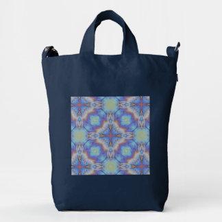 Oil Slick Large Tote w/Adjustable Shoulder Strap Duck Bag