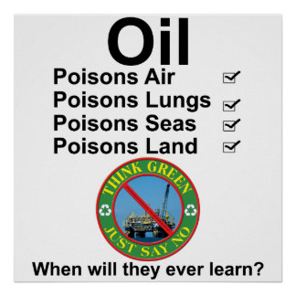 oil slick poster