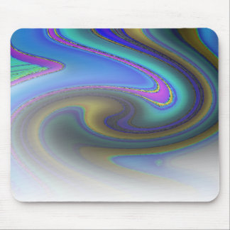Oil Slick Rainbow Fade Mouse Pad