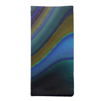 Oil Slick Rainbow Fade Printed Napkins