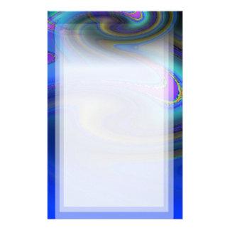 Oil Slick Rainbow Fade Stationery