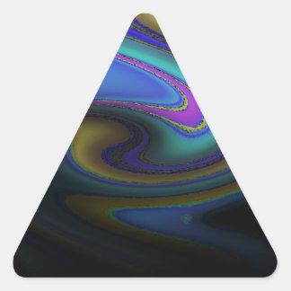 Oil Slick Rainbow Fade Sticker