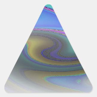 Oil Slick Rainbow Fade Stickers