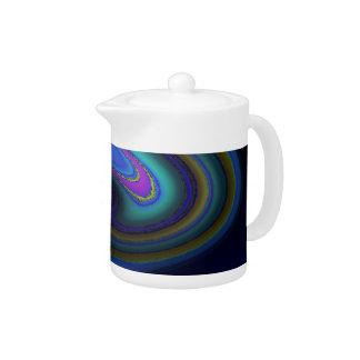 Oil Slick Rainbow Fade Teapot