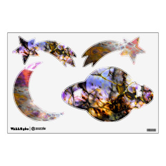 Oil Slick Wall Decal