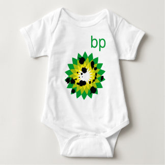 Oil Spattered BP Logo Baby Bodysuit