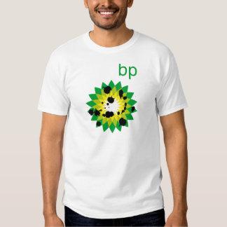 Oil Spattered BP Logo T-shirt