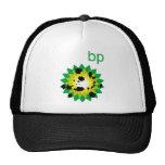Oil Spattered BP Logo Trucker Hat