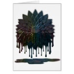 Oil Spill Cards Greeting Card