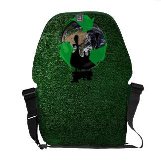 Oil Spill Courier Bag