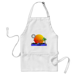 OIL Spill Disaster T-Shirts Adult Apron