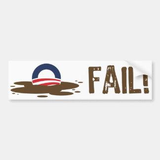 Oil Spill Fail Bumper Sticker Car Bumper Sticker