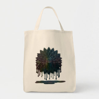 Oil Spill Grocery Tote Bag