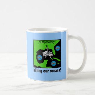 oil spill gulf of mexico coffee mug