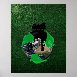 Oil Spill Poster