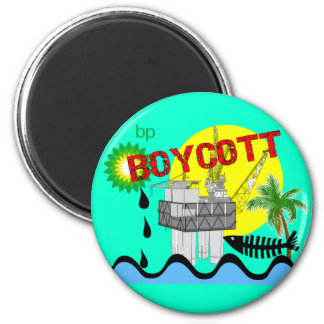 Oil Spill T-shirts 2 Inch Round Magnet