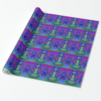 Oil Spill Wrapping Paper