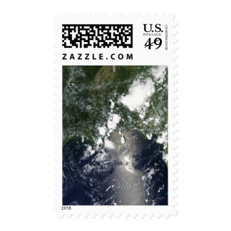 Oil spreads northeast postage stamp
