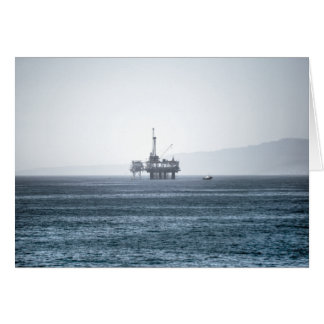 Oil Tower Stationery Note Card