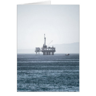 Oil Tower Card