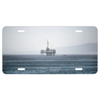 Oil Tower License Plate