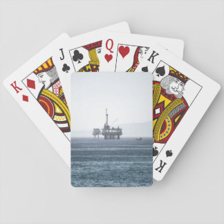 Oil Tower Playing Cards