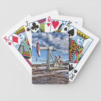 Oil Well Bicycle Playing Cards