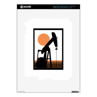 Oil Well Decal For iPad 3
