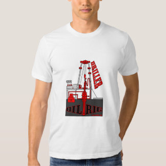 Oil Well Driller,Drilling Rig T-Shirt,Oil Field, T-shirt