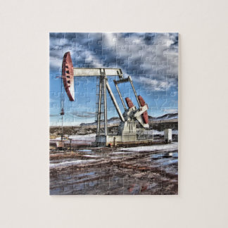 Oil Well Jigsaw Puzzle