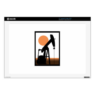 Oil Well Laptop Decals