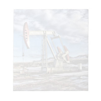 Oil Well Note Pad