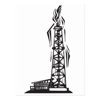 Oil Well Postcard