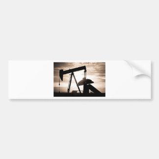 Oil Well Pump Bumper Sticker