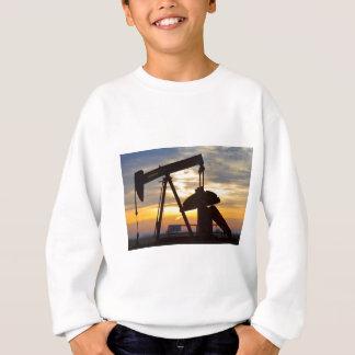 Oil Well Pump Jack Sunrise Sweatshirt