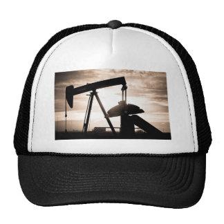 Oil Well Pump Trucker Hat