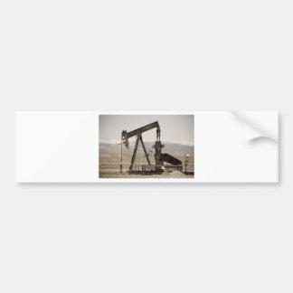 Oil Well Seesaw for the Birds Bumper Sticker