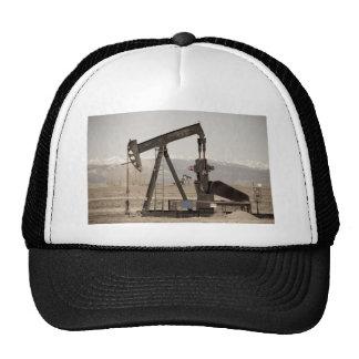 Oil Well Seesaw for the Birds Trucker Hat