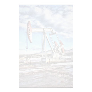 Oil Well Stationery