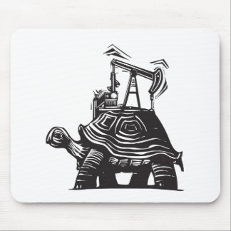 Oil Well Turtle Mouse Pad